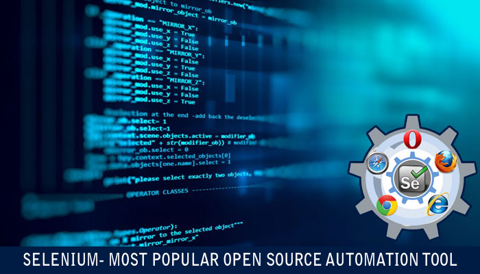 Selenium Most Popular Open Source Automation Tool