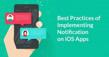 notification on ios app