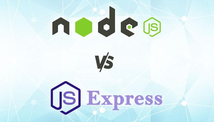Node-JS-vs-Node-JS-Express